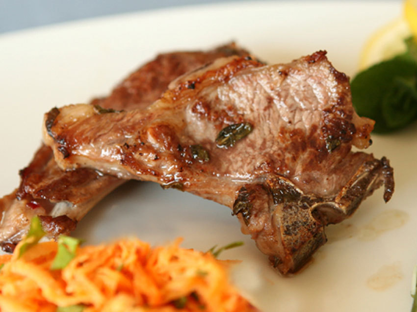 Herb & Lemon Marinated Lamb Chops