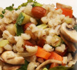 Barley Pilaf with Almonds